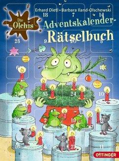 Die Olchis. Adventskalender-Rätselbuch (Mängelexemplar) - Iland-Olschewski, Barbara; Dietl, Erhard