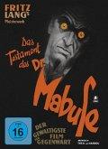 Das Testament des Dr. Mabuse (restaurierte Fassung, limitiertes Mediabook, + DVD)