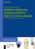 Greek Medical Manuscripts - Diels' Catalogue 01