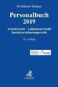 Personalbuch 2019 - Küttner, Wolfdieter