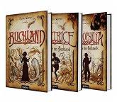 Buchland Band 1-3: Beatrice. Rückkehr ins Buchland, Bibliophilia. Das Ende des Buchlands: Die komplette Trilogie als Hardcover-Ausgabe