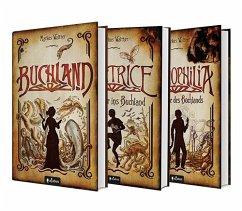 Buchland Band 1-3: Beatrice. Rückkehr ins Buchland, Bibliophilia. Das Ende des Buchlands: Die komplette Trilogie als Hardcover-Ausgabe - Walther, Markus