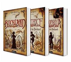 Buchland Band 1-3: Buchland / Beatrice. Rückkehr ins Buchland / Bibliophilia. Das Ende des Buchlands: Die komplette Trilogie (Paperback) - Walther, Markus