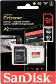 SanDisk microSDXC V30 A2 256GB Extreme 160MB SDSQXA1-256G-GN6MA