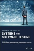 Analytic Methods in Systems and Software Testing (eBook, ePUB)