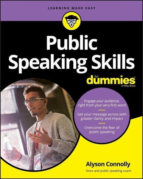 Public Speaking Skills For Dummies (eBook, PDF) von Alyson ...