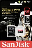 SanDisk microSDXC A2 170MB 256GB Extreme Pro SDSQXCZ-256G-GN6MA