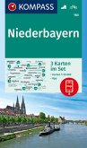Kompass Karte Niederbayern