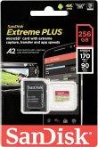 SanDisk microSDXC 170MB A2 256GB Extreme Plus SDSQXBZ-2568-GN6MA