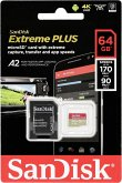 SanDisk microSDXC 170MB A2 64GB Extreme Plus SDSQXBZ-064G-GN6MA