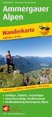 PublicPress Wanderkarte Ammergauer Alpen