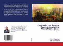 Creating Human Resource Systems for Attaining Middle Income Status