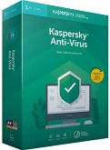 Kaspersky Anti-Virus (Basis-Schutz für Ihren PC) für 1PC/1Jahr