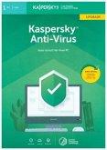 Kaspersky Anti-Virus, Upgrade, FFP, 1 Code in a Box