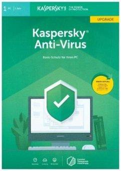Kaspersky Anti-Virus, Upgrade, FFP, 1 Code in a...