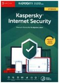 Kaspersky Internet Security, 3 Geräte, Upgrade, FFP, 1 Code in a Box