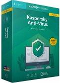 Kaspersky Anti-Virus Upgrade (Basis-Schutz für Ihren PC) für 1PC/1Jahr