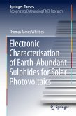 Electronic Characterisation of Earth-Abundant Sulphides for Solar Photovoltaics (eBook, PDF)