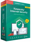 Kaspersky Internet Security, 3 Geräte, 1 Jahr, Upgrade, 1 Code in a Box