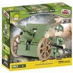 COBI 2153 - SMALL ARMY, Howitzer 100mm WZ. 1914/19P, Haubitze, Bausatz, 50 Teile und 1 Figur