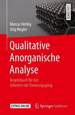 Qualitative Anorganische Analyse - Herbig, Marcus;Wagler, Jörg