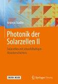 Photonik der Solarzellen II