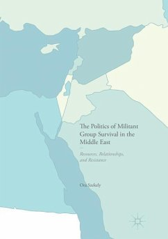 The Politics of Militant Group Survival in the Middle East - Szekely, Ora