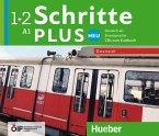 A1 - 4 Audio-CDs zum Kursbuch / Schritte plus Neu - Deutsch als Zweitsprache, Ausgabe Österreich .1+2