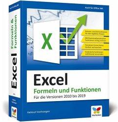Excel - Formeln und Funktionen - Vonhoegen, Helmut