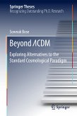Beyond ¿CDM (eBook, PDF)