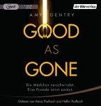Good as Gone, 1 MP3-CD (Mängelexemplar)