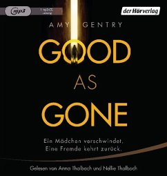 Good as Gone, 1 MP3-CD (Mängelexemplar) - Gentry, Amy
