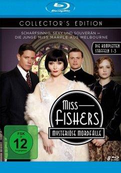 Miss Fishers mysteriöse Mordfälle - Collector's Edition - Die kompletten Staffeln 1-3 mit allen 34 Episoden BLU-RAY Box - Davis,Essie/Page,Nathan/Cummings,Ashleigh/+