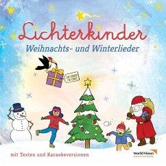 Weihnachts- und Winterlieder, 1 Audio-CD - Lichterkinder