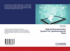 Hybrid Recommender System For Spatiotemporal Data