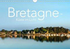 Bretagne - Küste im Licht (Wandkalender 2020 DIN A4 quer)