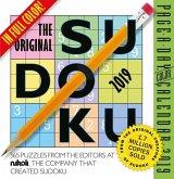 2019 the Original Sudoku Colour Page-A-Day Calendar