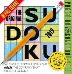 2019 the Original Sudoku Colour Page-A-Day Calendar - Workman Publishing