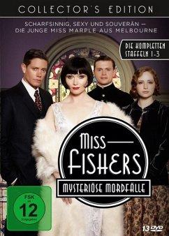 Miss Fishers mysteriöse Mordfälle - Collector's Edition - Die kompletten Staffeln 1-3 mit allen 34 Episoden DVD-Box - Davis,Essie/Page,Nathan/Cummings,Ashleigh/+
