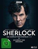 Sherlock - Die kompletten Staffeln 1-4 & Die Braut des Grauens BLU-RAY Box