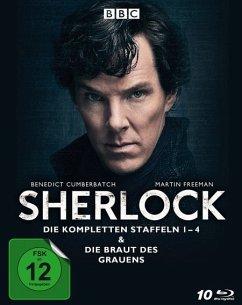 Sherlock - Die kompletten Staffeln 1-4 & Die Braut des Grauens BLU-RAY Box - Cumberbatch,B./Freeman,M./Gatiss,M./Pulver,L.