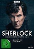 Sherlock - Die kompletten Staffeln 1-4 & Die Braut des Grauens DVD-Box