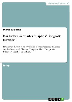 Das Lachen in Charles Chaplins