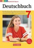 Deutschbuch 7. Jahrgangsstufe - Realschule Bayern - Schulaufgabentrainer mit Lösungen