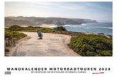 Foto-Wandkalender Motorradtouren 2020 - DIN A2 quer mit Feiertagen für Deutschland, Östereich und die Schweiz - Mit Platz für Notizen