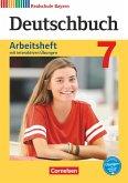 Deutschbuch 7. Jahrgangsstufe - Realschule Bayern - Arbeitsheft mit interaktiven Übungen auf scook.de
