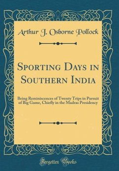 Sporting Days in Southern India