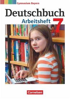 Deutschbuch Gymnasium 7. Jahrgangsstufe - Bayern - Arbeitsheft mit Lösungen - Scheday, Martin; Wieland, Konrad