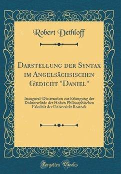 Darstellung der Syntax im Angelsächsischen Gedicht