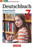 Deutschbuch Gymnasium 7. Jahrgangsstufe - Bayern - Arbeitsheft mit interaktiven Übungen auf scook.de